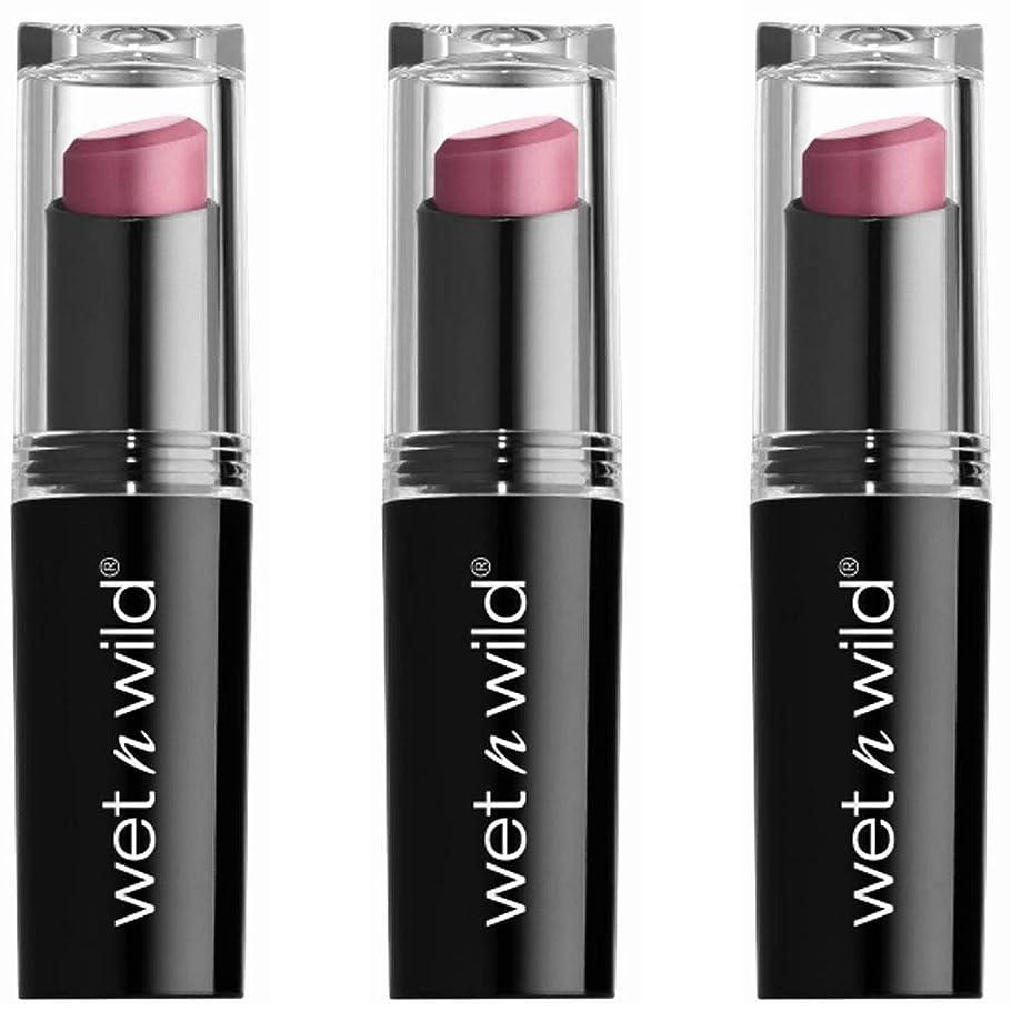 パラダイス塊消えるWET N WILD Mega Last Matte Lip Cover - Smooth Mauves (並行輸入品)