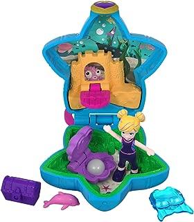 Polly Pocket FRY33 Tiny World, Polly & Dolphin Toy, Multicolor