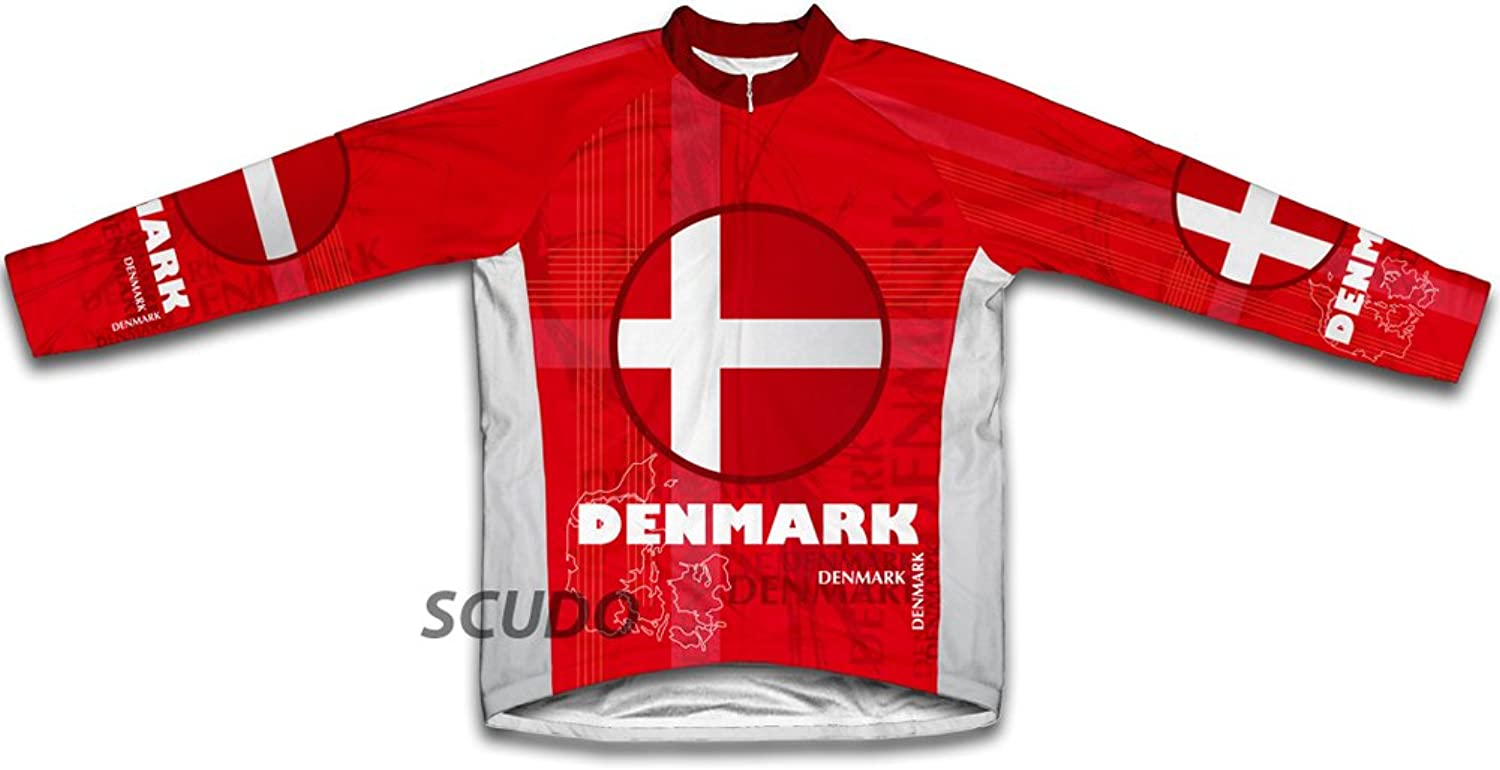 Denmark Winter Thermal Cycling Jersey for Women