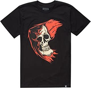 Famous Stars And Straps REAPER BADGE Men's Short Sleeve T-Shirt Black