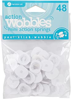Hampton Art AWSM048 Action Mini Wobble Spring 48/Pkg