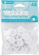 Hampton Art Action Mini Wobble Spring 48/Pkg, AWSM048, Hampton Art