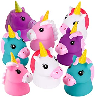 ArtCreativity Unicorn Water Squirt Toys for Kids, Pack of 12, Unicorn Birthday Party Favors, Bath Tub and Pool Toys for Ch...