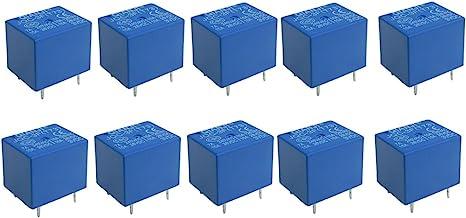 IIVVERR 10 x DC 3V Coil 5 Pins SPST Power Relay JQC-3F (10 x DC 3V Bobina 5 pines SPST Power Relay JQC-3F