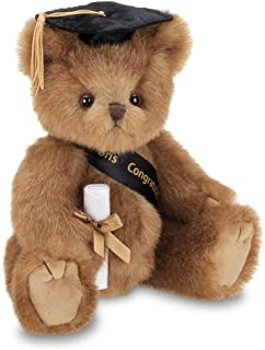 Bearington Smarty Class of 2019 Graduation Plush Stuffed Animal Teddy Bear in Black Cap, 10 inches