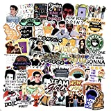 SBOBUY 64pcs Friends TV Show Fans Stickers for Laptop Water Bottle Luggage Snowboard Bicycle Skateboard Decal for Kids Teens Adult Waterproof Aesthetic Stickers 2 in 1 laptops Apr, 2021