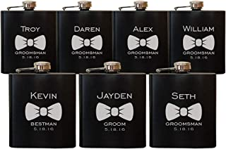 Best father of the groom hip flask Reviews