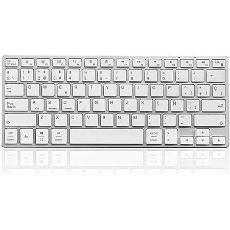 SUBBLIM Keyboard Pure Compact, Plata (SUB-KB-2PUC100 ...