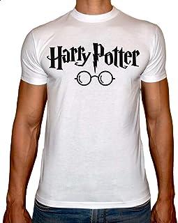 فاست برينت هاري بوتر تي شيرت قبة دائرية للرجال