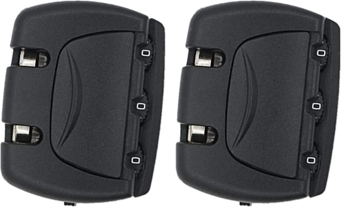 2pcs Set Password Lock Replacement Luggage Suitcase Pul National uniform free shipping trust for