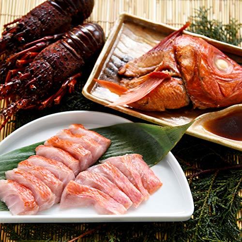 静岡 三崎 金目鯛 と 伊勢 海老 の 産直 セット