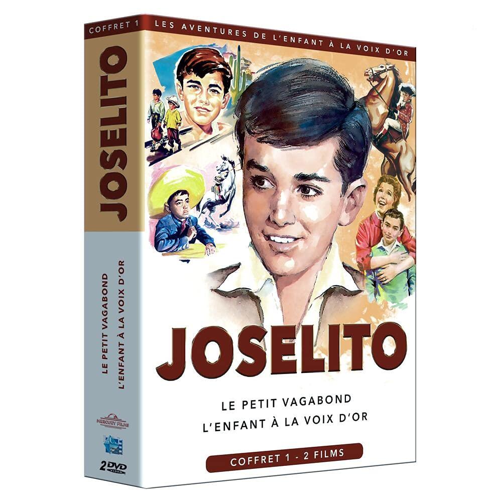 Joselito : Le petit vagabond + L'enfant à la voix d'or [Francia]