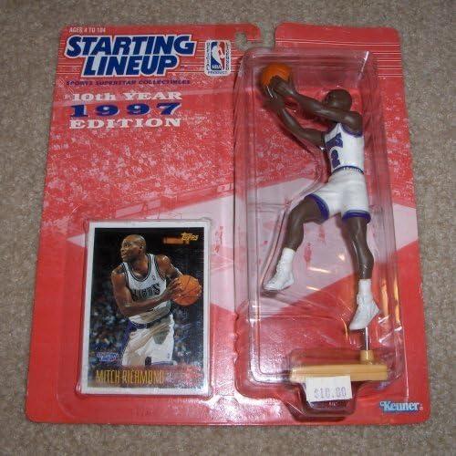 1997 Mitch Richmond NBA Starting Lineup by Starting Line Up