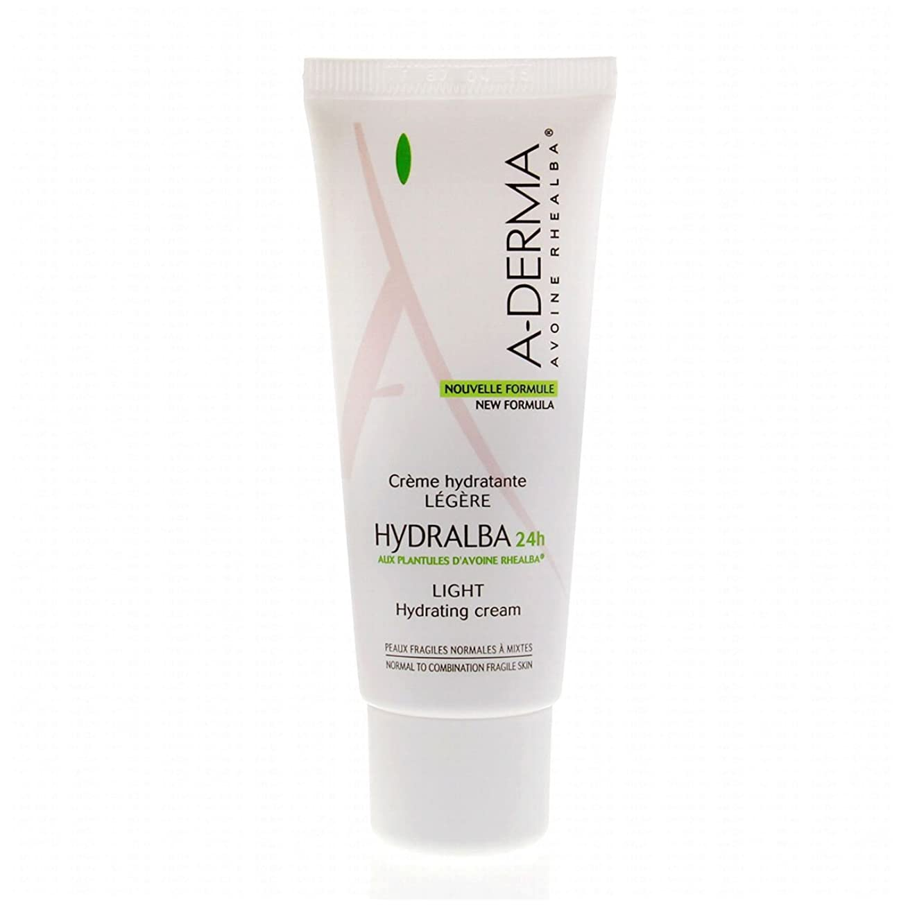 ベックス扇動朝A-derma Hydralba Hydrating Cream Light 40ml [並行輸入品]