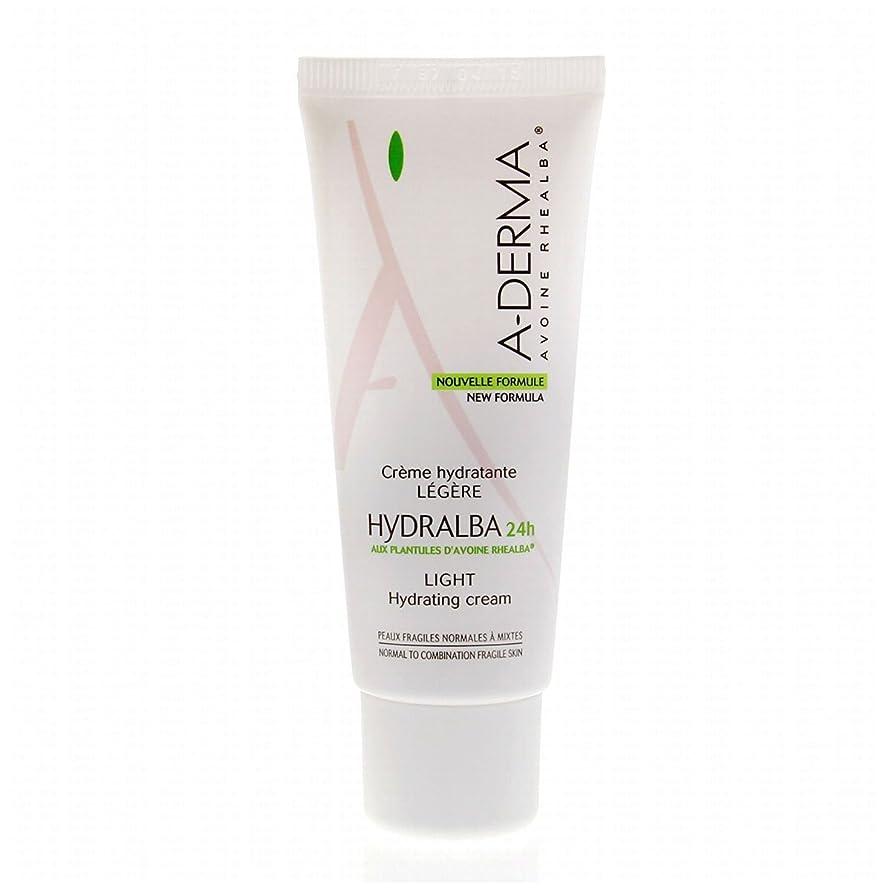 チチカカ湖モンキー解放するA-derma Hydralba Hydrating Cream Light 40ml [並行輸入品]