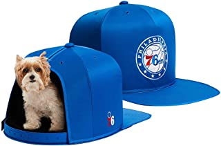 NAP CAP NBA Philadelphia 76ers Team Indoor Pet Bed, Blue (Available in 3 Sizes)
