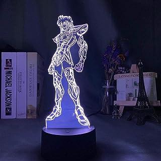 مصباح مشترك ثلاثي الأبعاد بإضاءة Usb Anime The K St Saya aزين غرف نوم الأطفال