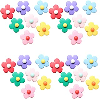 50pcs Flower Blossom Resin Accessories DIY Mobile Phone Beauty Ornament Phone Case Decor Girls Headdress Adornment for Dec...