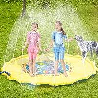Spruzzatore per i bambini: ogni amori bambino che gioca con l'acqua. Soprattutto durante la stagione calda, è bene per consentire ai bambini di avere questo divertente. Tutto quello che dovete fare è agganciato la piscina per bambini con lo spruzzato...