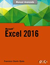 Excel 2016 (Manuales Avanzados)