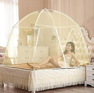 SHIJIAN 蚊帳ベッドキャノピー、プレミアムバグスクリーン忌避剤、ドームスクリーンネッティングカーテン、防虫忌避剤、虫よけマラリア対策