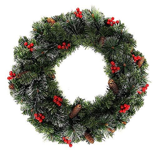Weihnachtskranz Adventskranz Tür Mit Kugel Schleife Merry Christmas Weihnachten Dekor Daity Weihnachtskranz Mit Weihnachtskugeln,40cm