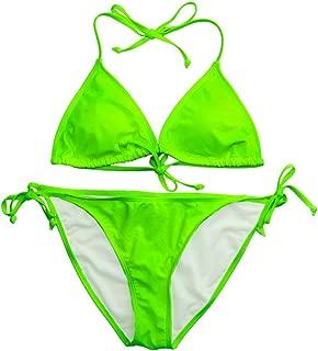 AIRGRACIAS Sexy Bikini Swimsuit for Women Push Up Two Piece Bikini Set Swimwear Beachsuits