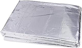 sourcing map Coche Insonorizante Estera Forro Aluminio Papel