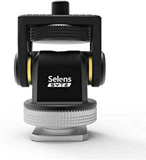 Selens Mini Hot Shoe Stand Monitor Mount with 1/4