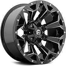 Fuel D576 Assault 20x10 5x114.3/5x127 -18mm Black/Milled Wheel Rim