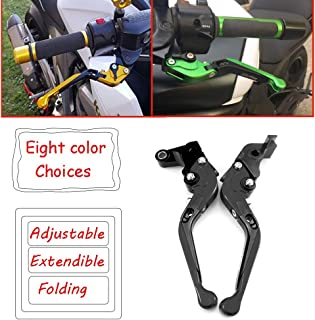 Motorcycle Adjustable Extendable Folding Brake Clutch Levers for Honda CB919 2002-2007 / CBR 600 F2,F3,F4,F4i 1991-2007 / CBR900RR 1993-1999 / CTX 700/750 2012-2015 / NC700 S/X 2012-2013