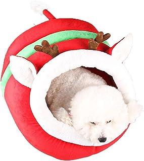 Oncpcare Varmt katthus bärbar marsvin hus Chinchilla-bur marsvin säng milu-form för små djur som kattunge, valp, marsvin, ...