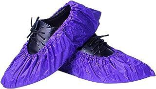 HUAIXIAOHAI Rangement réutilisable Bottes de Pluie Unisex Bottes antidérapantes imperméables Bottes de Chaussures de Chaus...