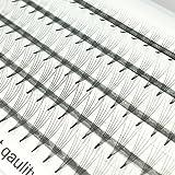 Extensiones de pestañas en 3D Volumen del racimo ruso Pestañas individuales Volumen profesional C Extensiones de pestañas de rizo para la belleza (VLash-0005)