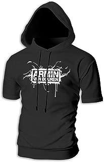 Mans Armin Van Buuren Custom Drawstring Short Sleeve Hooded