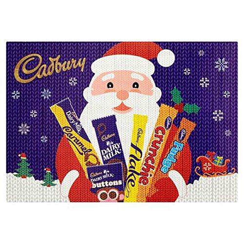 Cadbury Medium Selection Box 155g - eine Auswahl der beliebtesten Cadbury-Riegel