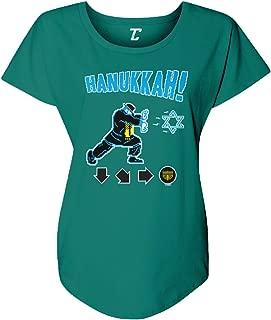 Hanukkah! - Video Game Retro Star of David Women's Dolman