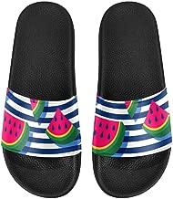 INTERESTPRINT Indoor Outdoor Women's Casual Sandals US6-US12