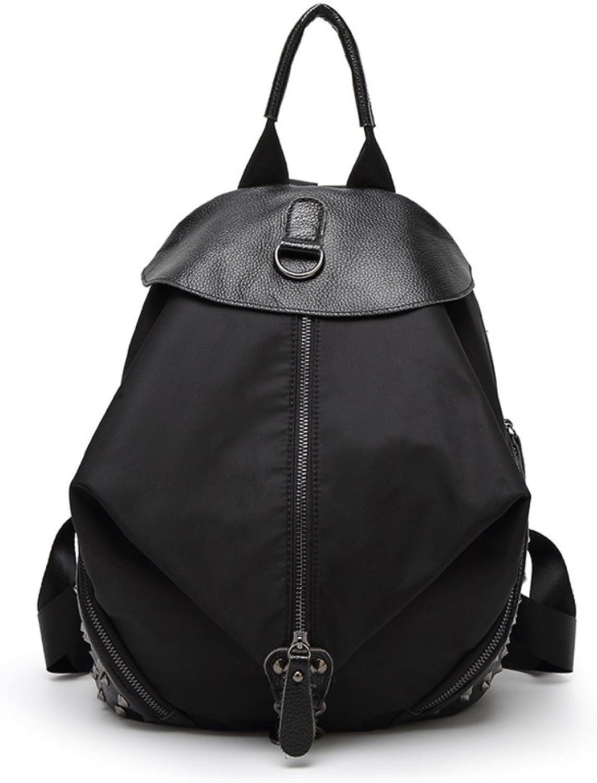 HIFISH HB125253 Genuine Leather Korean Style Women's Handbag,Soft Backpack