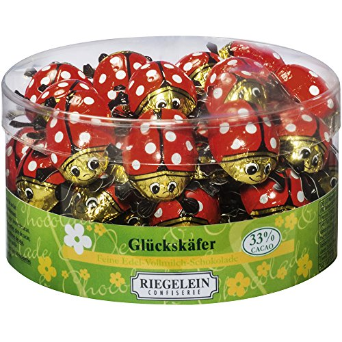Riegelein Glückskäfer 45 Stück (281,25g) - Edel-Vollmilch-Schokolade