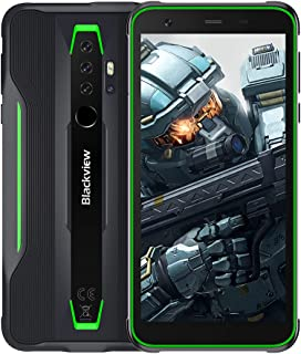 Blackview BV6300 Pro SIMフリー スマホ本体 Android 10 タフネススマートフォン 6GB RAM +128GB ROM Helio P70 オクタコア 11.6mm薄型ボディ 防水スマホ 防塵 耐衝撃4380mA...