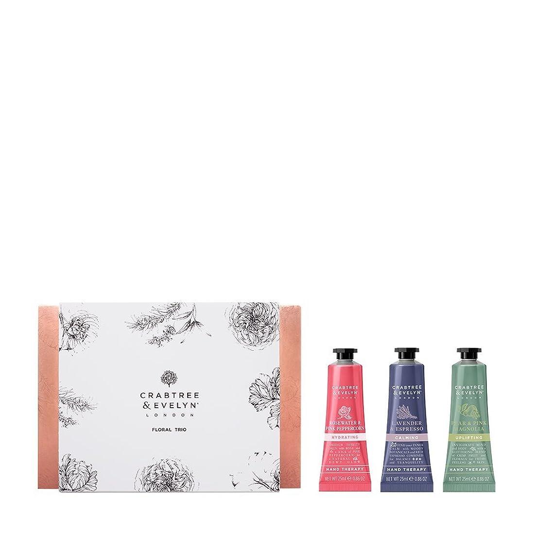 東方クーポン土曜日クラブツリー&イヴリン Floral Hand Therapy Trio (1x Pear & Pink Magnolia, 1x Rosewater & Pink Peppercorn, 1x Lavender & Espresso) 3x25ml/0.86oz並行輸入品