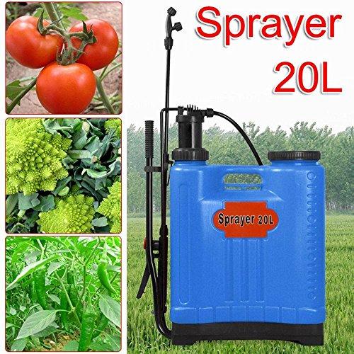 Generic Ycuk2 _ 150815 _ 33 < 1 & 4457 * 1 > Tilisersure Spraye Pulvérisateur à pression Grande d'eau de 20L/Désherbant/Engrais Sac à dos à dos L 20L K