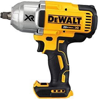 DEWALT (DCF899HB) 20V MAX XR Impact Wrench Kit, Brushless, High Torque, Hog Ring Anvil,..