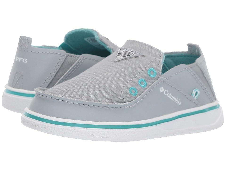 Columbia Kids Bahamatm PFG (Toddler/Little Kid/Big Kid) (Earl Grey/Geyser) Girls Shoes