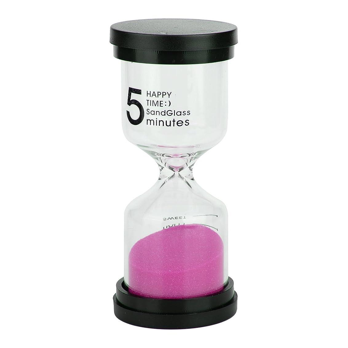 分析に同意するナラーバー砂時計 インテリアタイマー 目盛り 砂タイマー カラフル 小テスト ゲーム 料理 お風呂 タイマー プレゼント 贈り物 5分