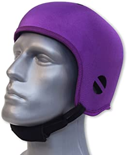 Opti-Cool Headgear Soft Protective Helmet (Large 23.5-24.75 inches, Purple)