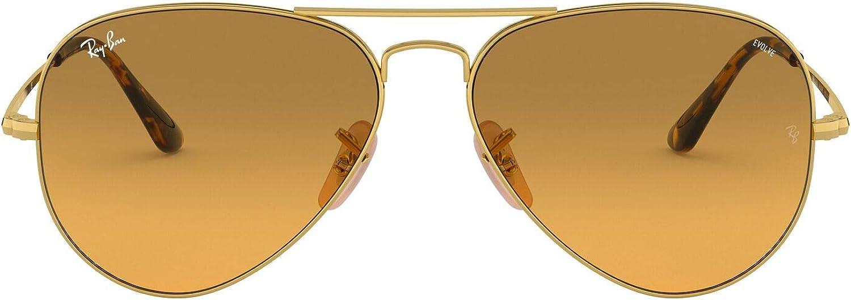 Ray-Ban Montures de lunettes Mixte Marron (Gold)