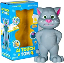 Jack Royal AI Touch & Record Sensitive Flashing Eyes Record and Play Talking Tom Toy (Large)