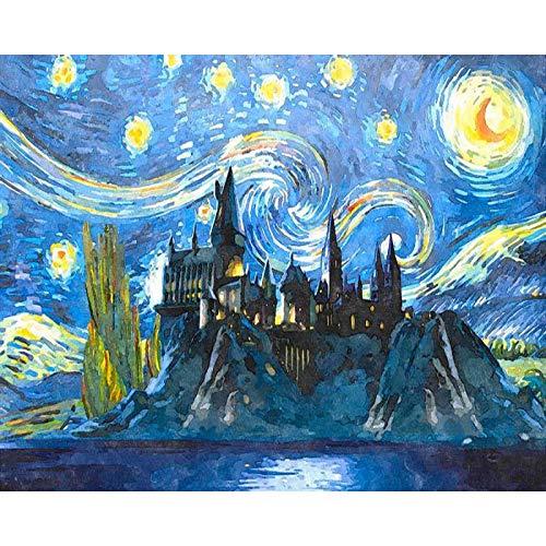 Barco de pesca pintura de bricolaje por nmeros kits de pintura pintura al leo abstracta por nmeros en lienzo para pintar cuadros de arte de pared A2 50x70cm